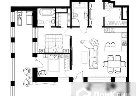 Продаётся 3-комнатная квартира, 132.8 м²