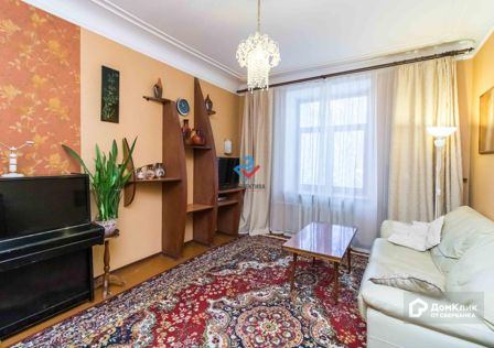 Продаётся 3-комнатная квартира, 75.5 м²
