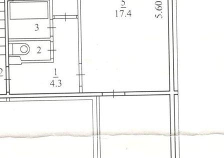 Продаётся 2-комнатная квартира, 43.7 м²