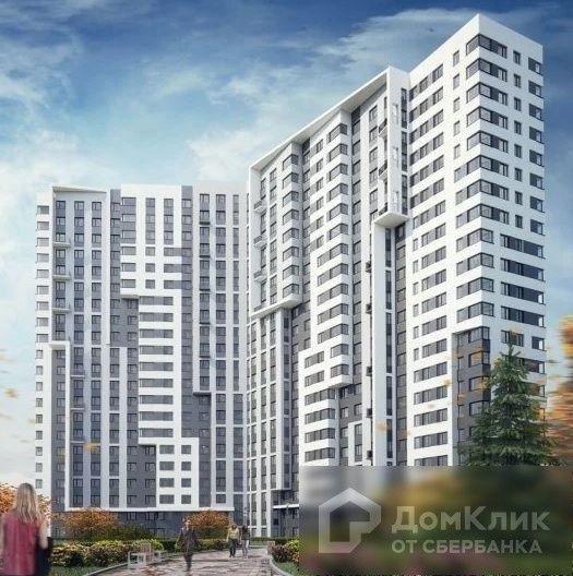 Продаётся 2-комнатная квартира, 60.01 м²